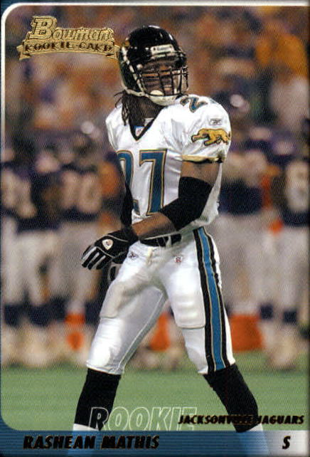 2003 Bowman #126 Rashean Mathis RC