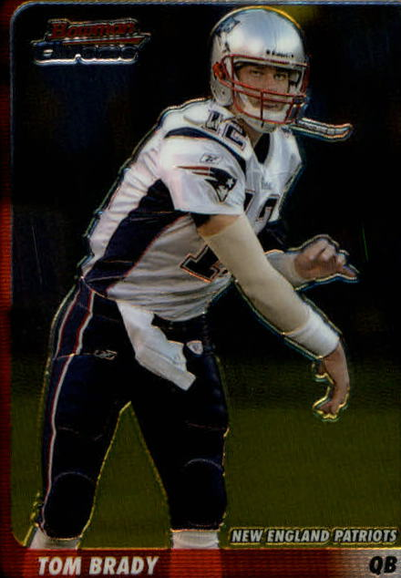 2003 Bowman Chrome #14 Tom Brady