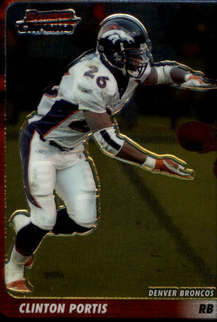 2003 Bowman Chrome #37 Clinton Portis