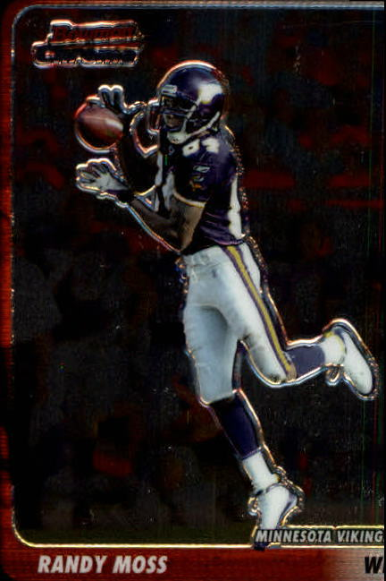 2003 Bowman Chrome #60 Randy Moss