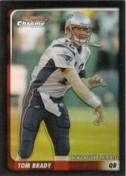 2003 Bowman Chrome Refractors #14 Tom Brady