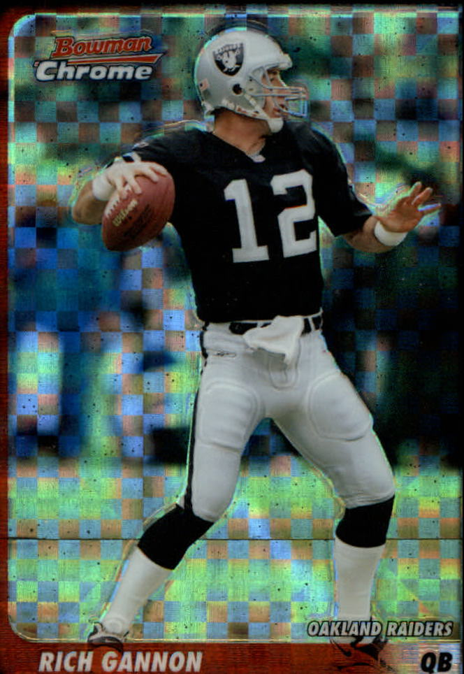 2003 Bowman Chrome Xfractors #4 Rich Gannon
