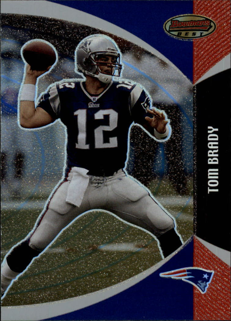 2003 Bowman's Best #34 Tom Brady