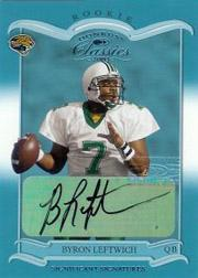 2003 Donruss Classics Significant Signatures #152 Byron Leftwich/100