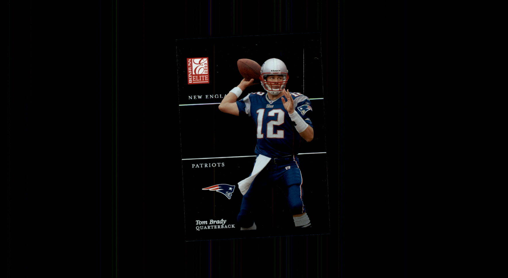 2003 Donruss Elite #33 Tom Brady