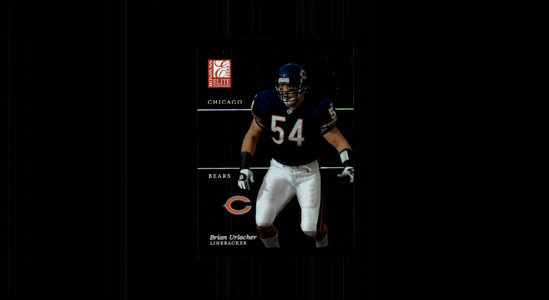 2003 Donruss Elite #63 Brian Urlacher