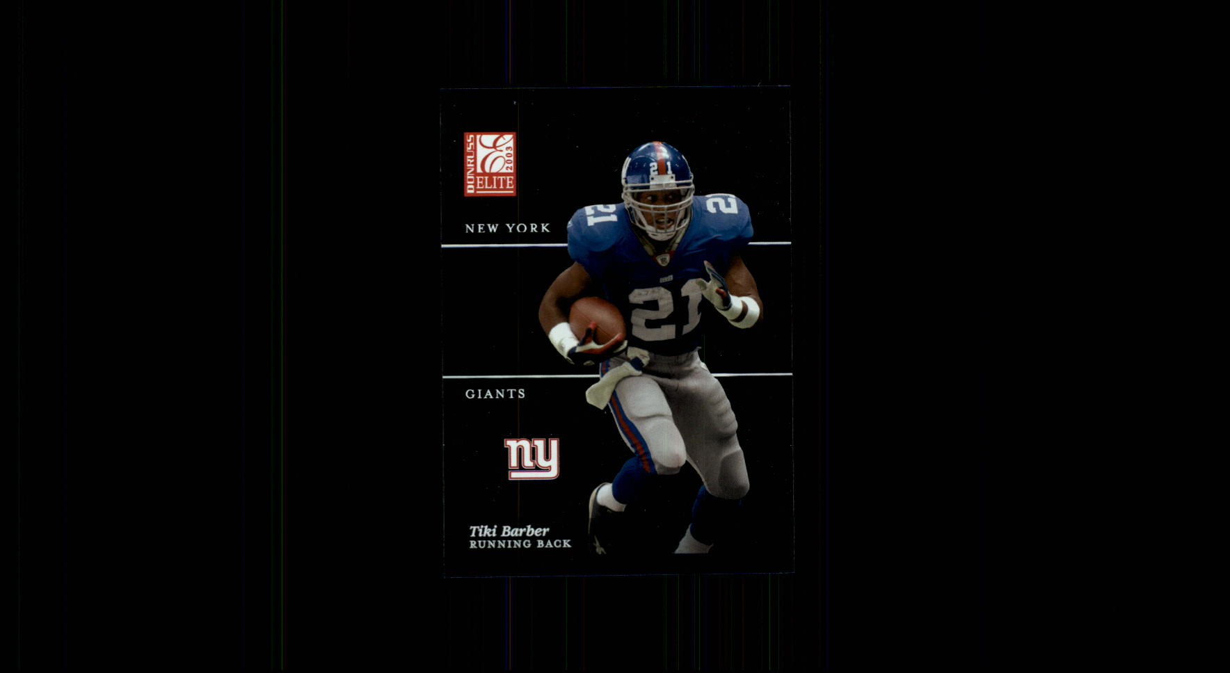 2003 Donruss Elite #80 Tiki Barber