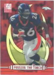 2003 Donruss Elite Passing the Torch #PT23 Clinton Portis/Terrell Davis