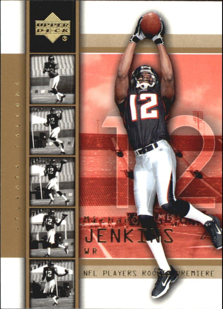 2004 Upper Deck Rookie Premiere Gold #18 Michael Jenkins