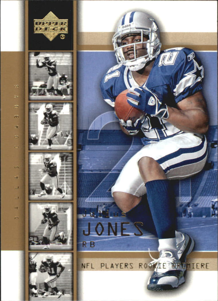 2004 Upper Deck Rookie Premiere Gold #24 Julius Jones