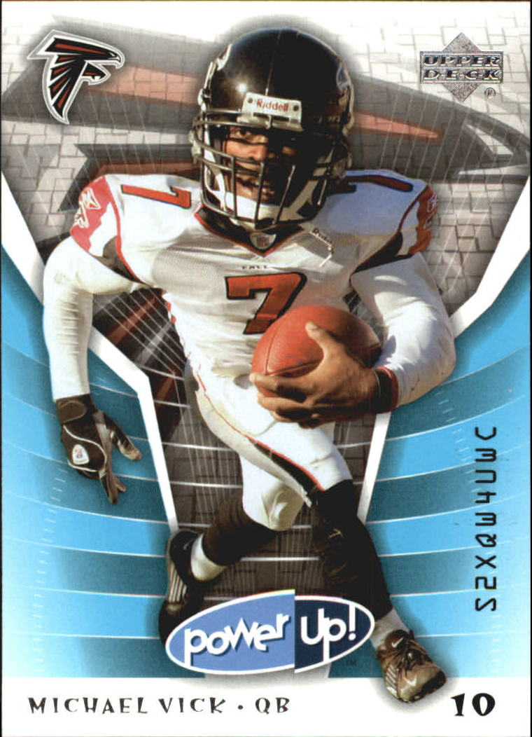 2004 Upper Deck Power Up #4 Michael Vick