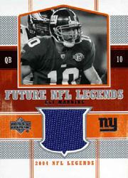 2004 Upper Deck Legends Future Legends Jersey #FLEM Eli Manning