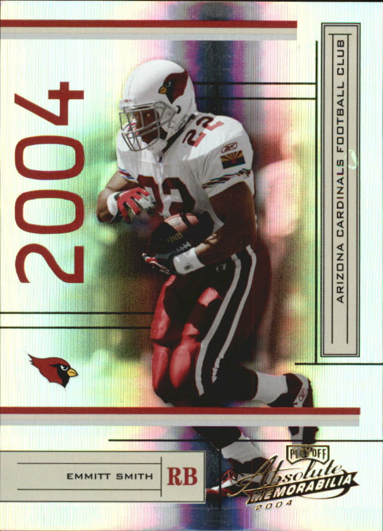 2004 Absolute Memorabilia #2 Emmitt Smith