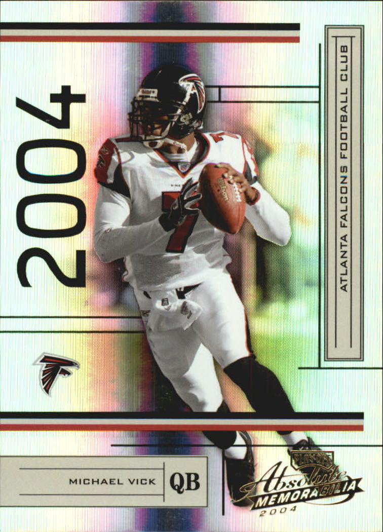 2004 Absolute Memorabilia #5 Michael Vick