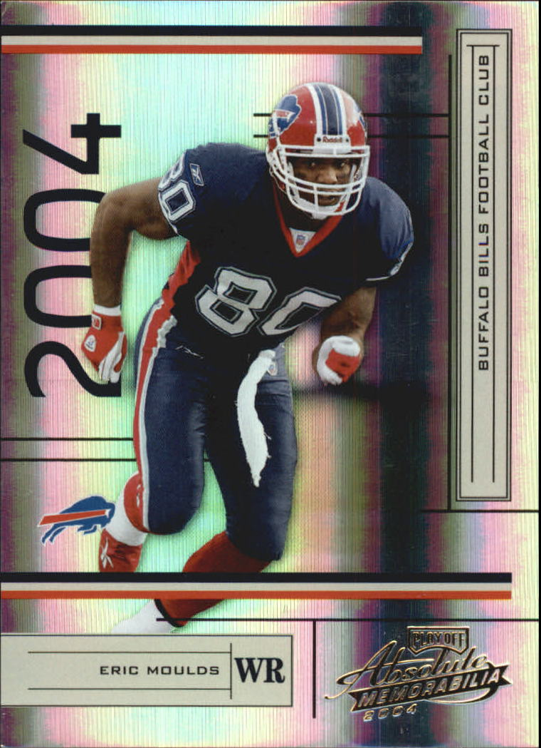 2004 Absolute Memorabilia #14 Eric Moulds