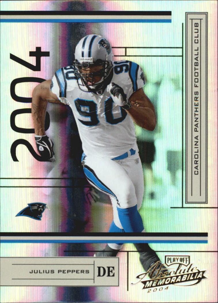 2004 Absolute Memorabilia #19 Julius Peppers