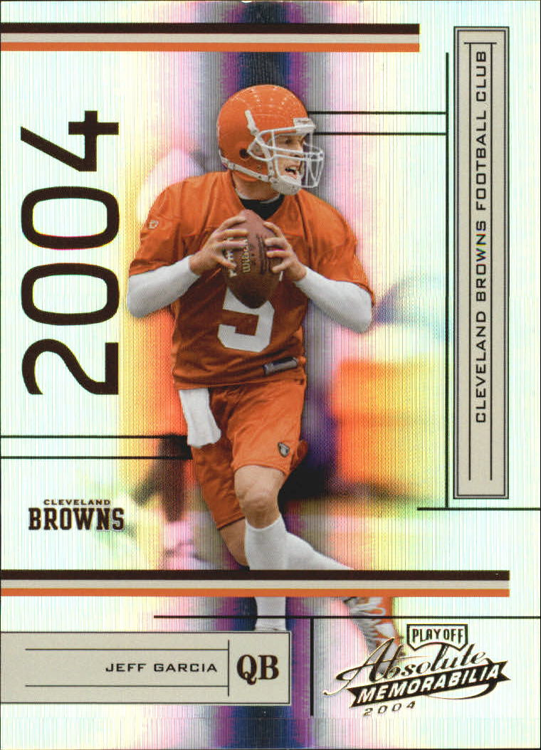 2004 Absolute Memorabilia #36 Jeff Garcia