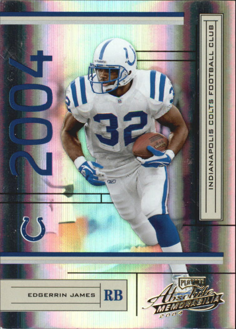 2004 Absolute Memorabilia #59 Edgerrin James