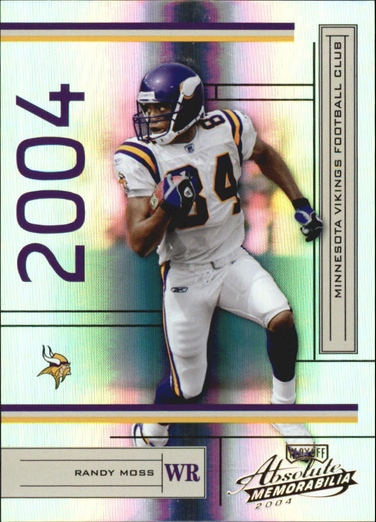 2004 Absolute Memorabilia #78 Randy Moss