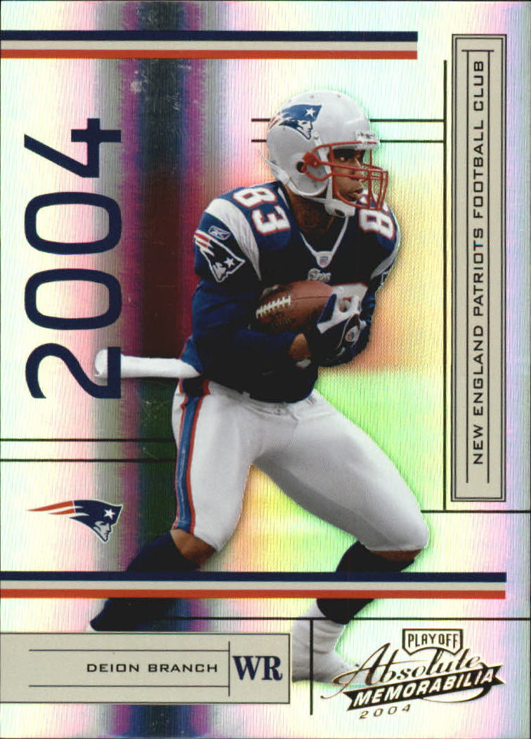2004 Absolute Memorabilia #80 Deion Branch