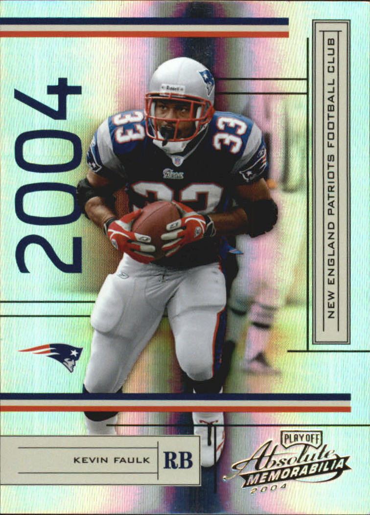2004 Absolute Memorabilia #81 Kevin Faulk
