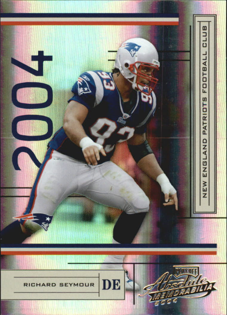 2004 Absolute Memorabilia #82 Richard Seymour