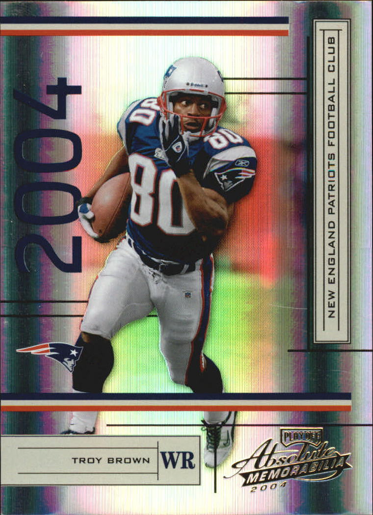 2004 Absolute Memorabilia #84 Troy Brown