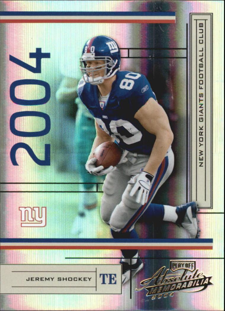 2004 Absolute Memorabilia #91 Jeremy Shockey