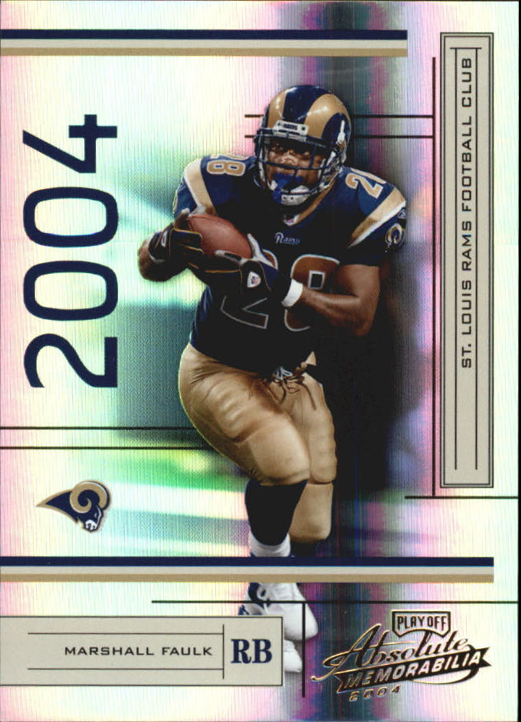2004 Absolute Memorabilia #133 Marshall Faulk
