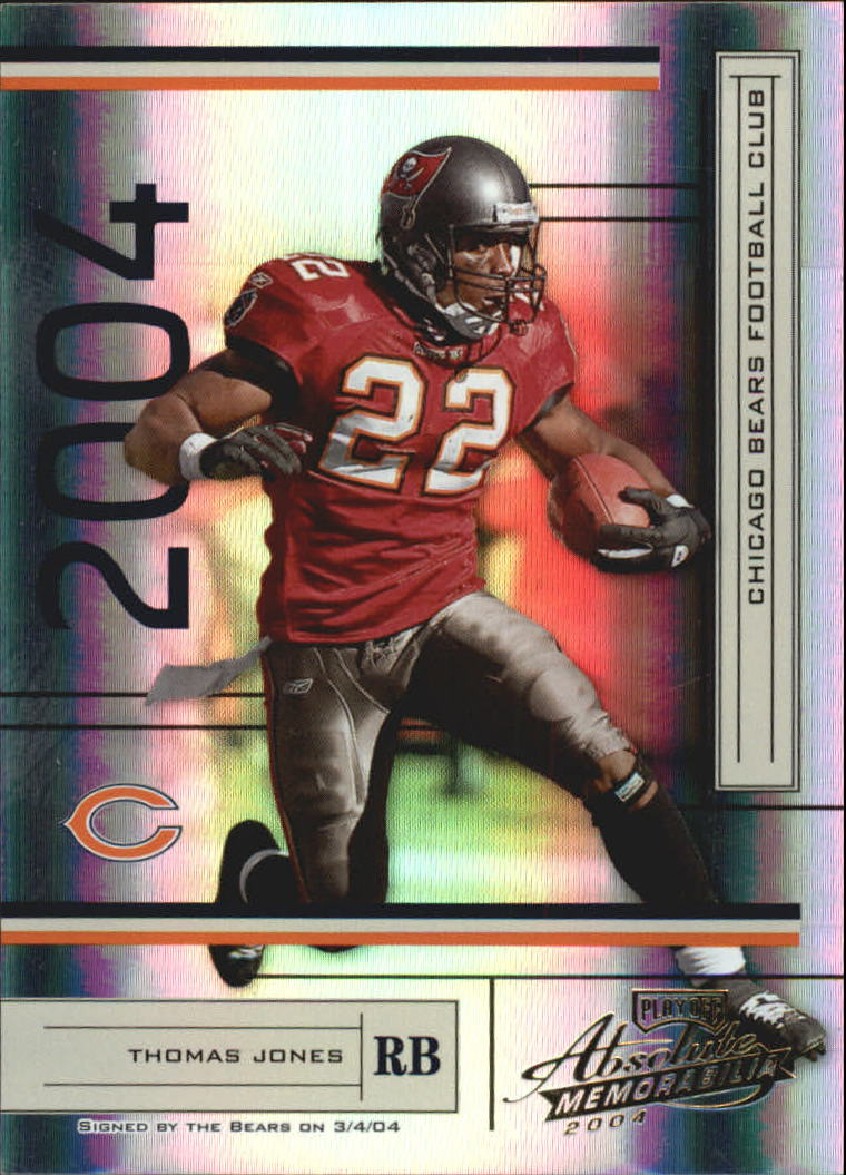 2004 Absolute Memorabilia #138 Thomas Jones