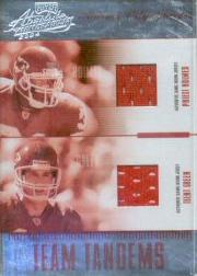 2004 Absolute Memorabilia Team Tandems Material #TT12 Priest Holmes/Trent Green
