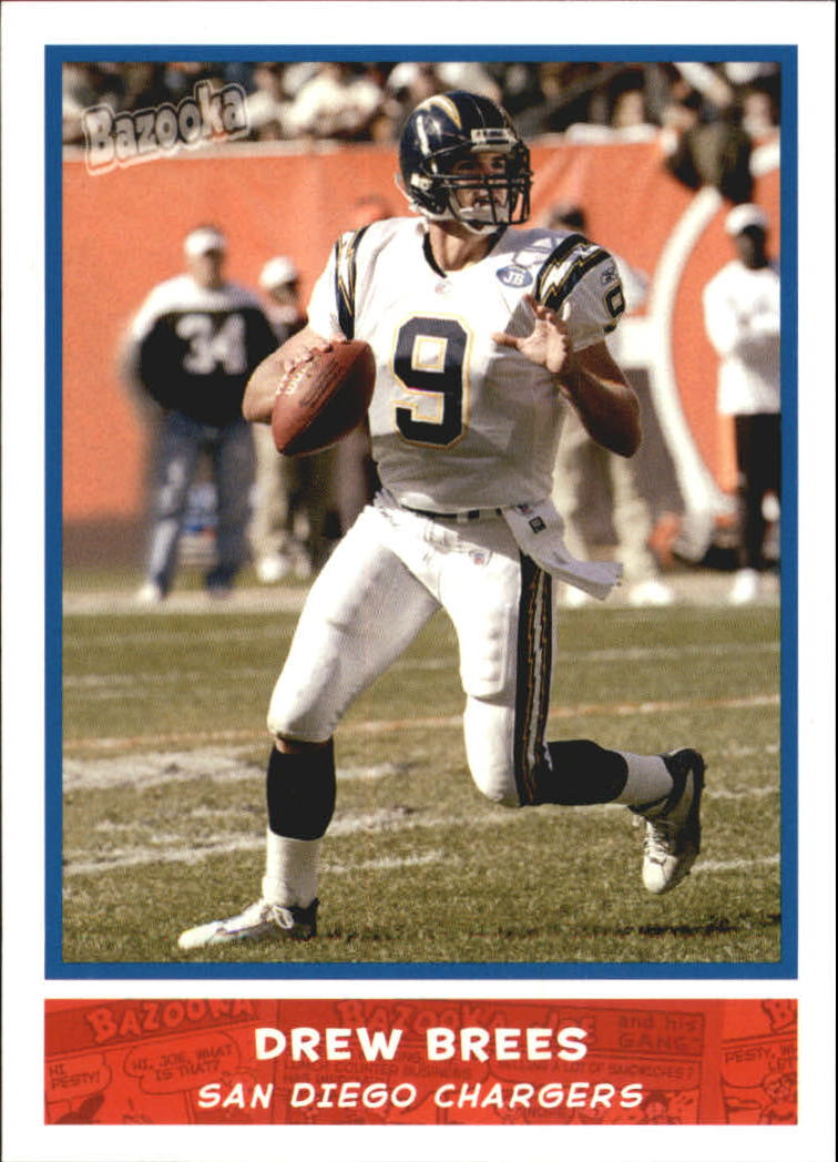 2004 Bazooka #14 Drew Brees