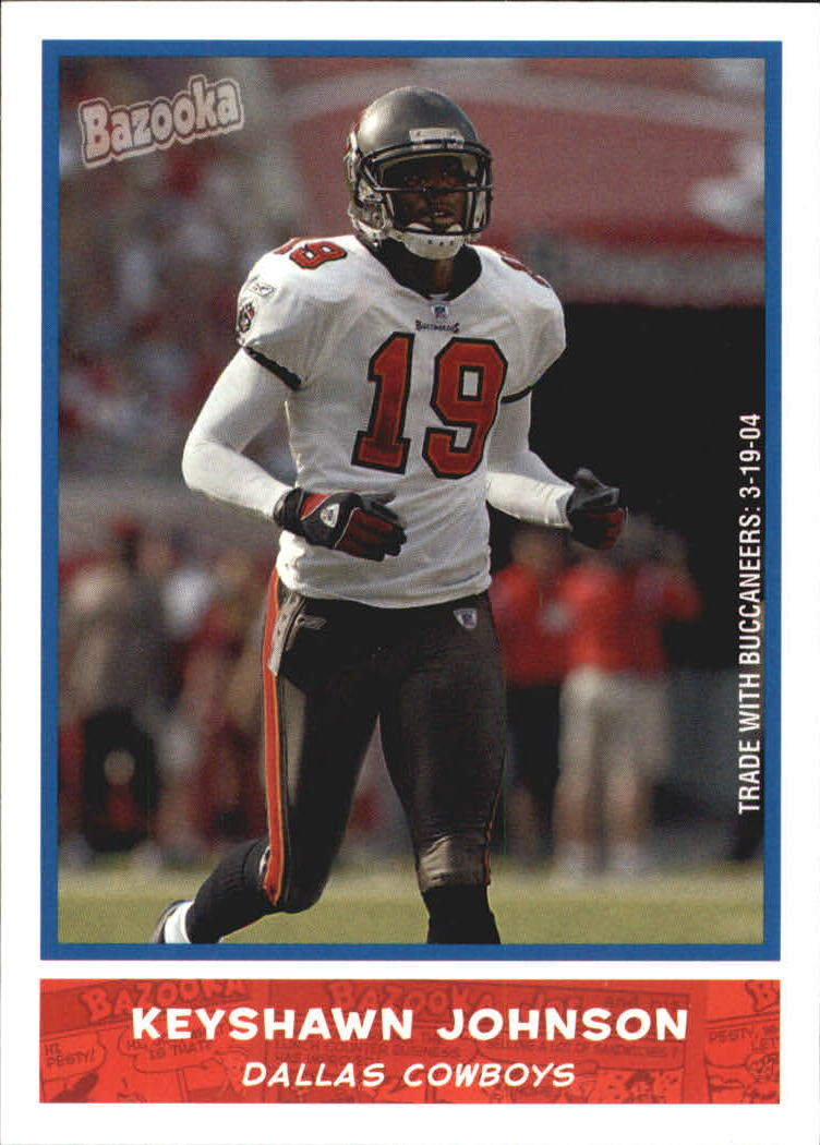 2004 Bazooka #138 Keyshawn Johnson