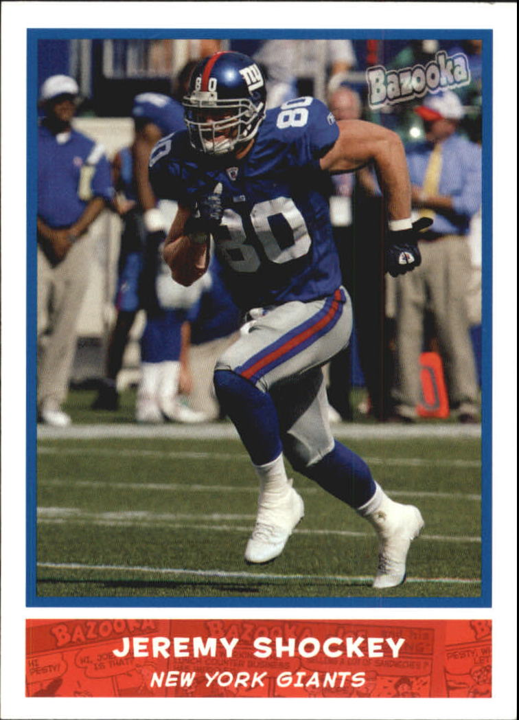 2004 Bazooka #142 Jeremy Shockey