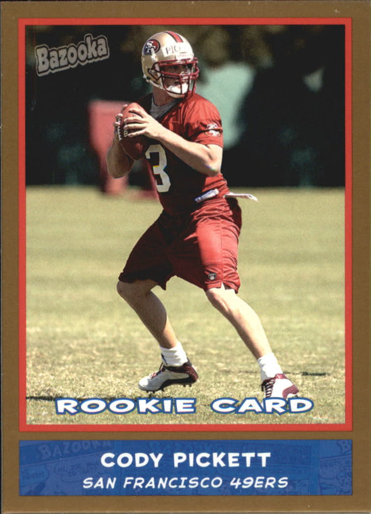 2004 Bazooka Gold #188 Cody Pickett