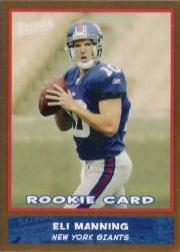 2004 Bazooka Gold #200 Eli Manning