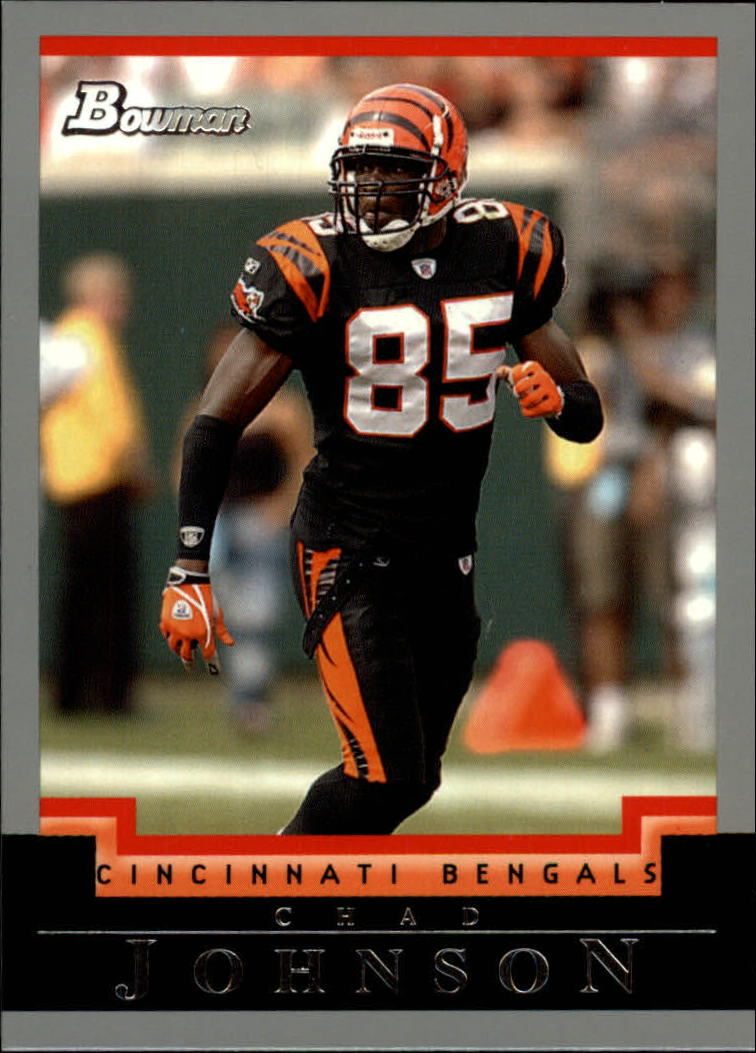 2004 Bowman #60 Chad Johnson