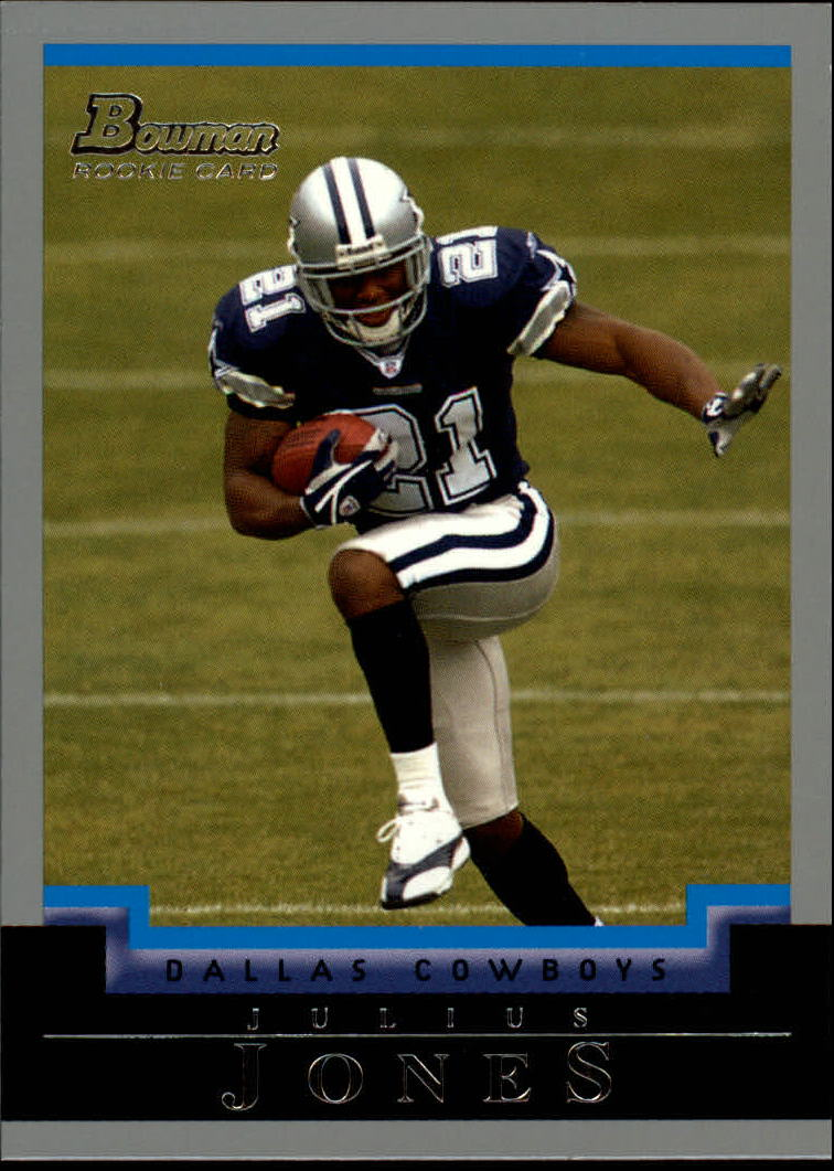 2004 Bowman #180 Julius Jones RC