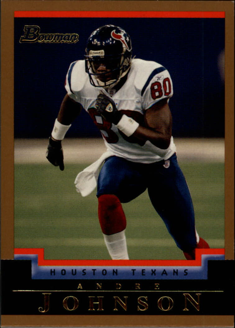 2004 Bowman Gold #18 Andre Johnson