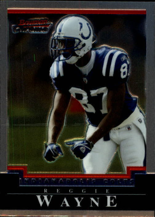 2004 Bowman Chrome #22 Reggie Wayne