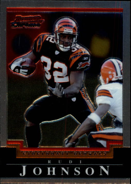 2004 Bowman Chrome #76 Rudi Johnson