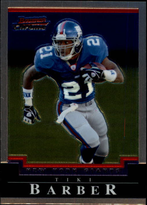 2004 Bowman Chrome #78 Tiki Barber