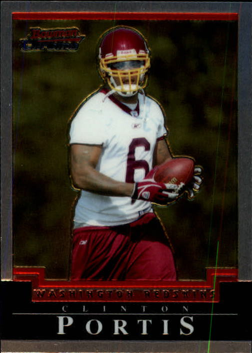 2004 Bowman Chrome #90 Clinton Portis