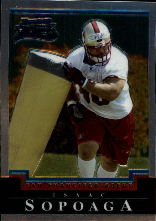 2004 Bowman Chrome #144 Isaac Sopoaga RC