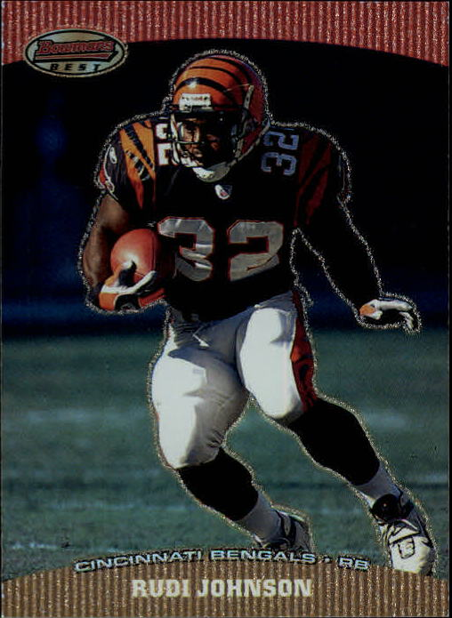 2004 Bowman's Best #71 Rudi Johnson