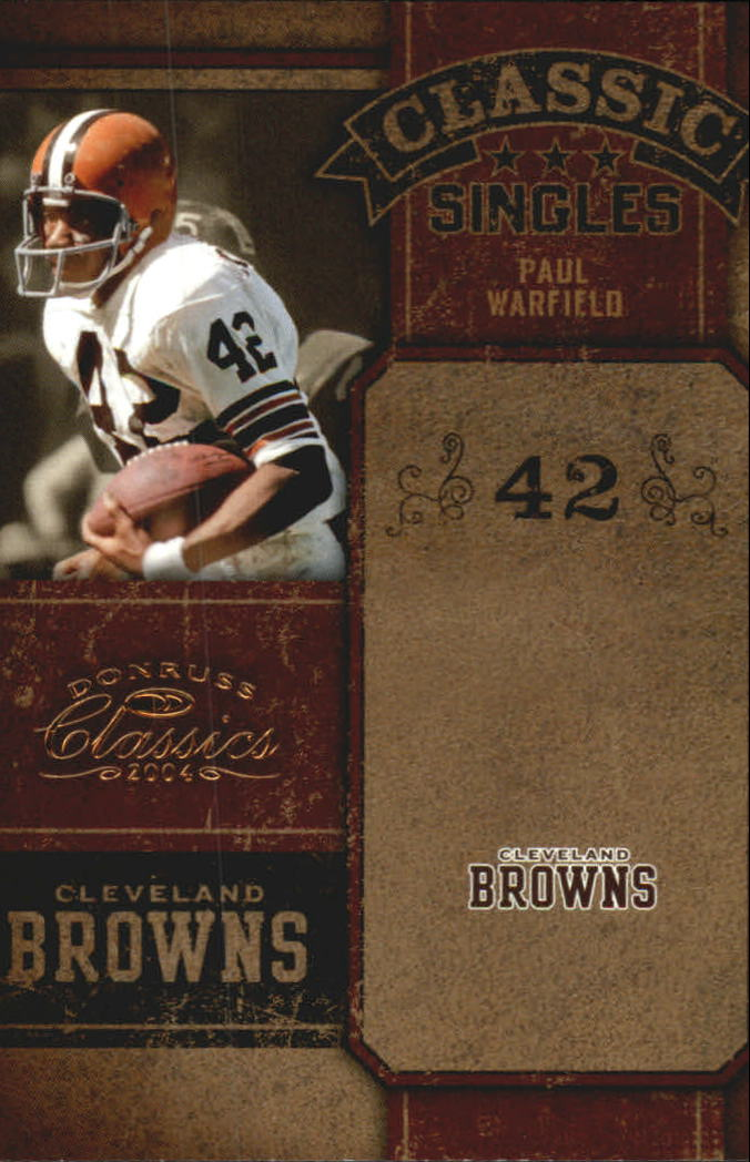 2004 Donruss Classics Classic #C23 Paul Warfield
