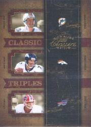 2004 Donruss Classics Classic #C46 Dan Marino/John Elway/Jim Kelly