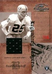 2004 Donruss Classics Legendary Players Jerseys #LP8 Fred Biletnikoff