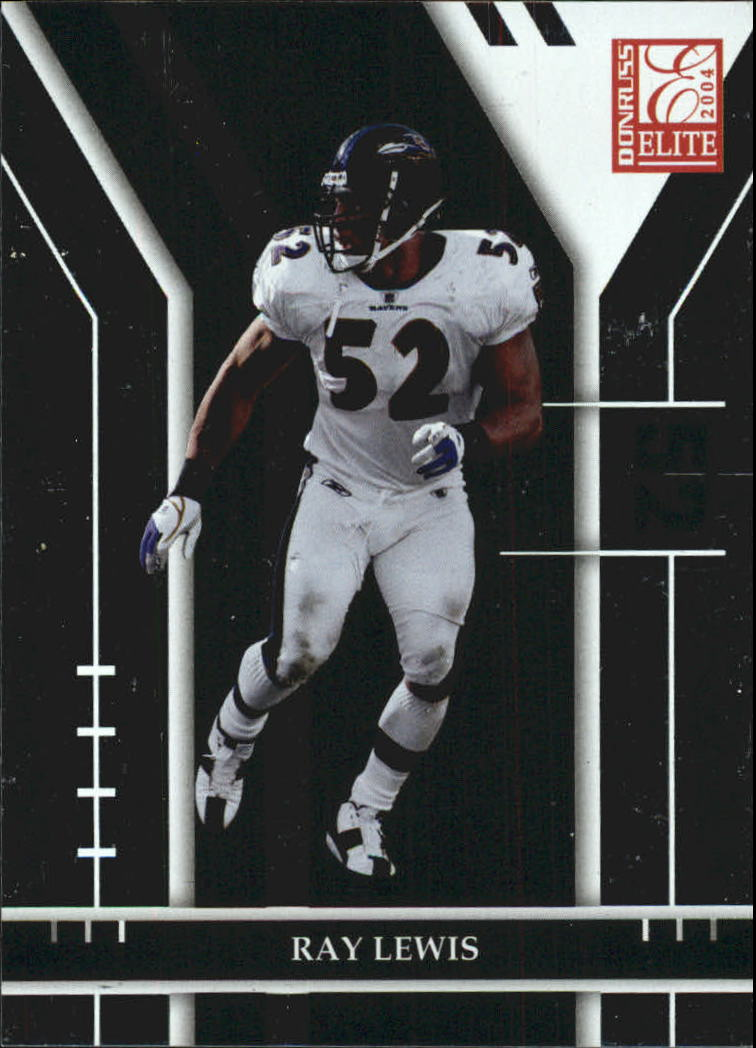 2004 Donruss Elite #10 Ray Lewis
