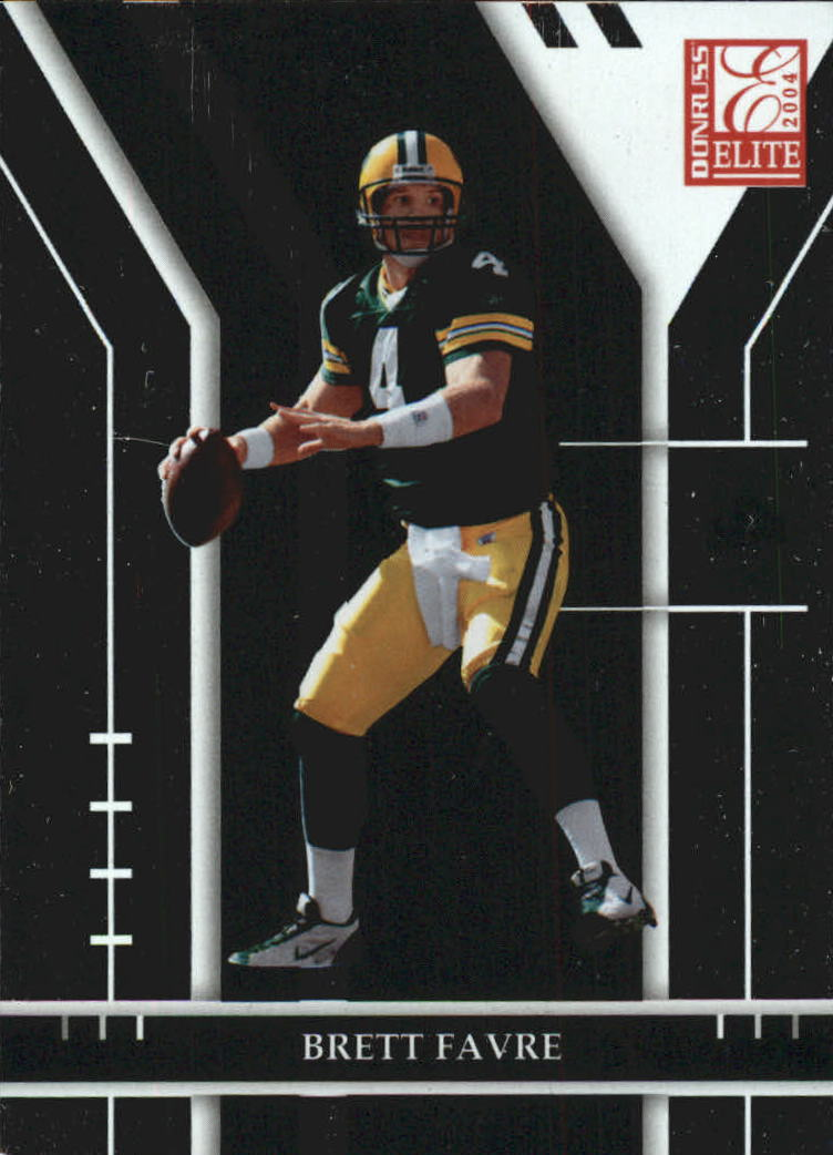 2004 Donruss Elite #35 Brett Favre